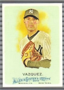 2010 Topps Allen and Ginter 138 Javier Vazquez