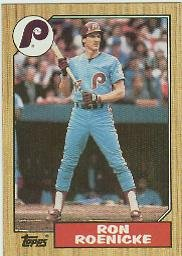 1987 Topps #329 Ron Roenicke