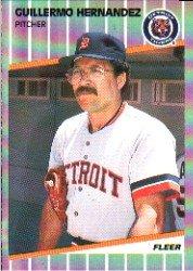 1989 Fleer #135 Guillermo Hernandez