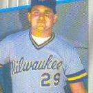 1989 Fleer #179 Chris Bosio