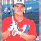 1989 Fleer #374 Mike R. Fitzgerald