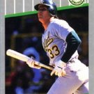 1989 Fleer #5 Jose Canseco