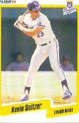 1990 Fleer #117 Kevin Seitzer