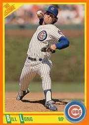 1990 Score Rookie/Traded #62T Bill Long