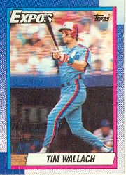 1990 Topps #370 Tim Wallach