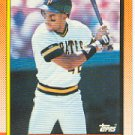 1990 Topps #482 Steve Carter - Pittsburgh Pirates (Baseball Cards)