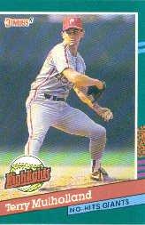1991 Donruss Bonus Cards #BC14 T.Mulholland