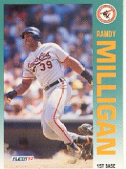 1992 Fleer #19 Randy Milligan