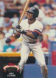 1992 Stadium Club #5 Milt Cuyler ( Baseball Cards )