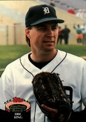 1992 Stadium Club #638 Eric King ( Baseball Cards )