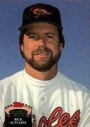 1992 Stadium Club #700 Rick Sutcliffe ( Baseball Cards )