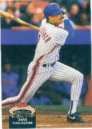 1992 Stadium Club #841 Dave Gallagher ( Baseball Cards )