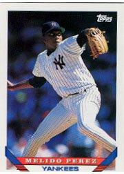 1993 Topps #304 Melido Perez ( Baseball Cards )