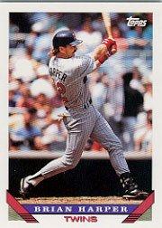 1993 Topps #389 Brian Harper ( Baseball Cards )