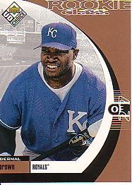 1999 UD Choice #11 Dermal Brown ( Baseball Cards )