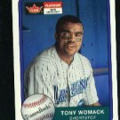 2001 Fleer Platinum #230 Tony Womack