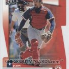 2002 Donruss Fan Club Die-Cuts #196 Jason Varitek