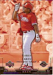 2003 Sweet Spot #95 Bobby Abreu