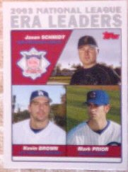 2004 Topps #347 Schmidt/K.Brown/Prior