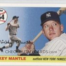2006 Topps Mantle Home Run History #354 Mickey Mantle