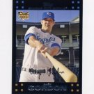 2007 Topps #634 Alex Gordon RC - Kansas City Royals (RC - Rookie Card)(Baseball Cards)