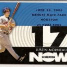 2007 Topps Generation Now #GN133 Justin Morneau