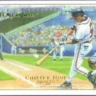 2007 UD Masterpieces #79 Chipper Jones - Atlanta Braves (Baseball Cards)
