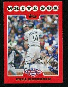 2008 Topps Opening Day #129 Paul Konerko - Chicago White Sox (Baseball Cards)