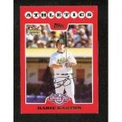 2008 Topps Opening Day #215 Daric Barton (RC) - Oakland Athletics (RC - Rookie Card)(Baseball Cards)