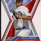 2008 Upper Deck X Die Cut #17 Carlos Zambrano