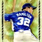 2009 Topps Allen and Ginter Highlight Sketches #AGHS5 Josh Hamilton