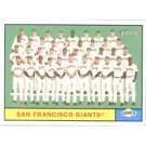 2010 Topps Heritage #167 San Francisco Giants