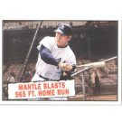 2010 Topps Heritage #406 Mickey Mantle