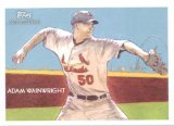 2010 Topps National Chicle #102 Adam Wainwright - St. Louis Cardinals (Baseball Cards)