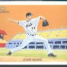 2010 Topps National Chicle #181 John Maine - New York Mets (Baseball Cards)