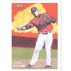 2010 Topps National Chicle #54 Yunel Escobar - Atlanta Braves (Baseball Cards)