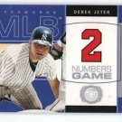 2003 Fleer Patchworks Numbers Game #2NG Derek Jeter