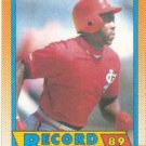 1990 Topps #6 Vince Coleman - St. Louis Cardinals (RB)(Baseball Cards)