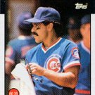 1986 Topps #125 Dave Lopes - Chicago Cubs (Baseball Cards)