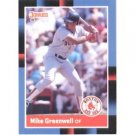 1988 Donruss #339 Mike Greenwell