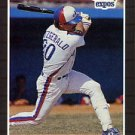 1989 Donruss #456 Mike R. Fitzgerald - Montreal Expos (Baseball Cards)