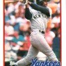 1989 Topps #185 Claudell Washington
