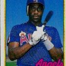 1989 Topps #547 Mark McLemore