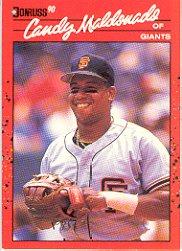 1990 Donruss #611 Candy Maldonado ( Baseball Cards )