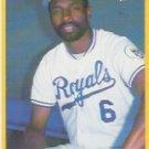 1990 Fleer #123 Willie Wilson ( Baseball Cards )