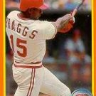 1990 Score Rookie / Traded #56T Glenn Braggs - Cincinnati Reds (Baseball Cards)