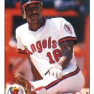 1990 Upper Deck #395 Claudell Washington