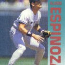 1992 Fleer #224 Alvaro Espinoza ( Baseball Cards )