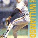 1992 Fleer #30 Mark Williamson ( Baseball Cards )