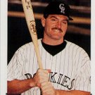 1993 Topps #486 Eric Wedge ( Baseball Cards )